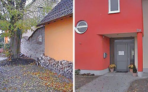 Anlagen-/Eingangsgestaltung
