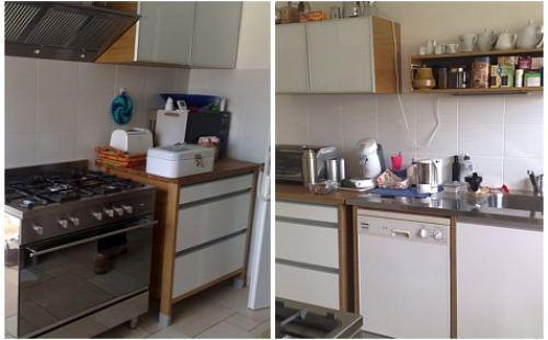 Feng Shui Haus - Kücheneinheit