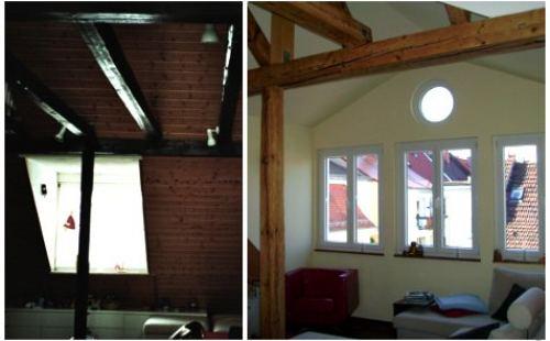 Wohnzimmer vor und nach der Feng Shui Beratung